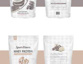 #4 cho Protein shake stand up pouch 500g Packaging S&F bởi lookandfeel2016