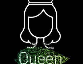 "#4 untuk logo design for a prestigious green tea brand .. name of the brand is ""Queen"" so the logo has to be very royal , should have the touch of a queens crown preferably have resemblance of the queen figure like on a deck of playing cards, should have a green l oleh abhijithapsr"