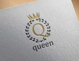 "#2 untuk logo design for a prestigious green tea brand .. name of the brand is ""Queen"" so the logo has to be very royal , should have the touch of a queens crown preferably have resemblance of the queen figure like on a deck of playing cards, should have a green l oleh snooki01"