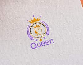 "#26 untuk logo design for a prestigious green tea brand .. name of the brand is ""Queen"" so the logo has to be very royal , should have the touch of a queens crown preferably have resemblance of the queen figure like on a deck of playing cards, should have a green l oleh designhunter007"