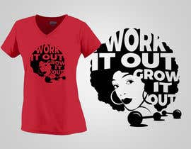 #5 for Work it out and Grow it Out by cdevangelista