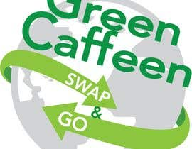 Nro 3 kilpailuun We want a round logo, possibly arrows around the outside. In black and white/monochrome, could have a pop of green colour. Must have Green Caffeen and Swap & Go in it. Simple, earthy, environmental design. (Leaf etc). käyttäjältä DowB