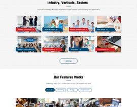 #8 for Website redesign 3 pages PSD only af webidea12