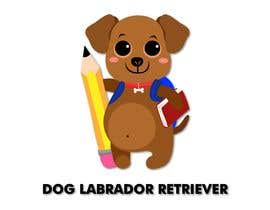 #16 for Logo design - Cartoon Dog Drawing logo by liizbarbosa11