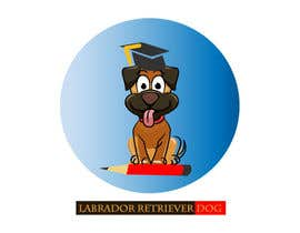 #14 untuk Logo design - Cartoon Dog Drawing logo oleh sharmin66akter