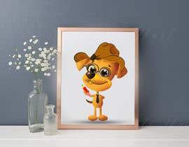 #12 für Logo design - Cartoon Dog Drawing logo von juwelmia2210