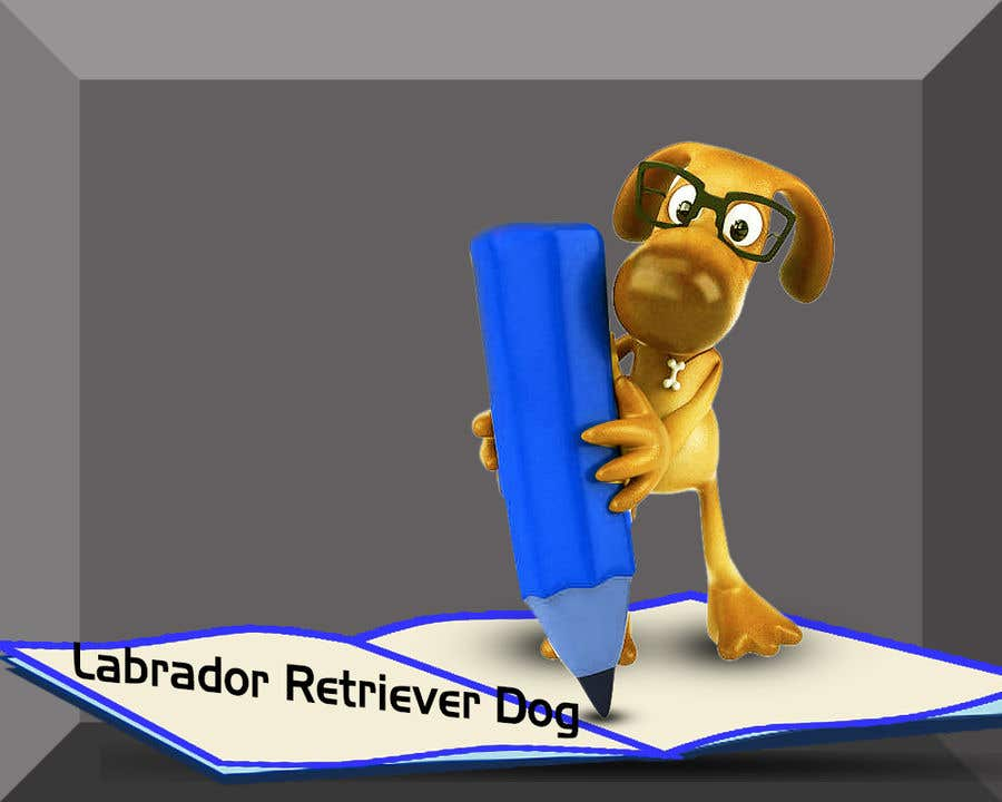 Wettbewerbs Eintrag #15 für Logo design - Cartoon Dog Drawing logo