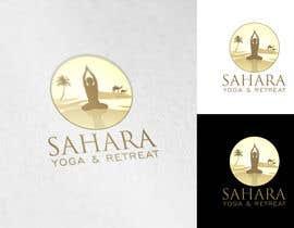 #59 dla Design a Logo for Yoga-Trips into the desert przez Attebasile