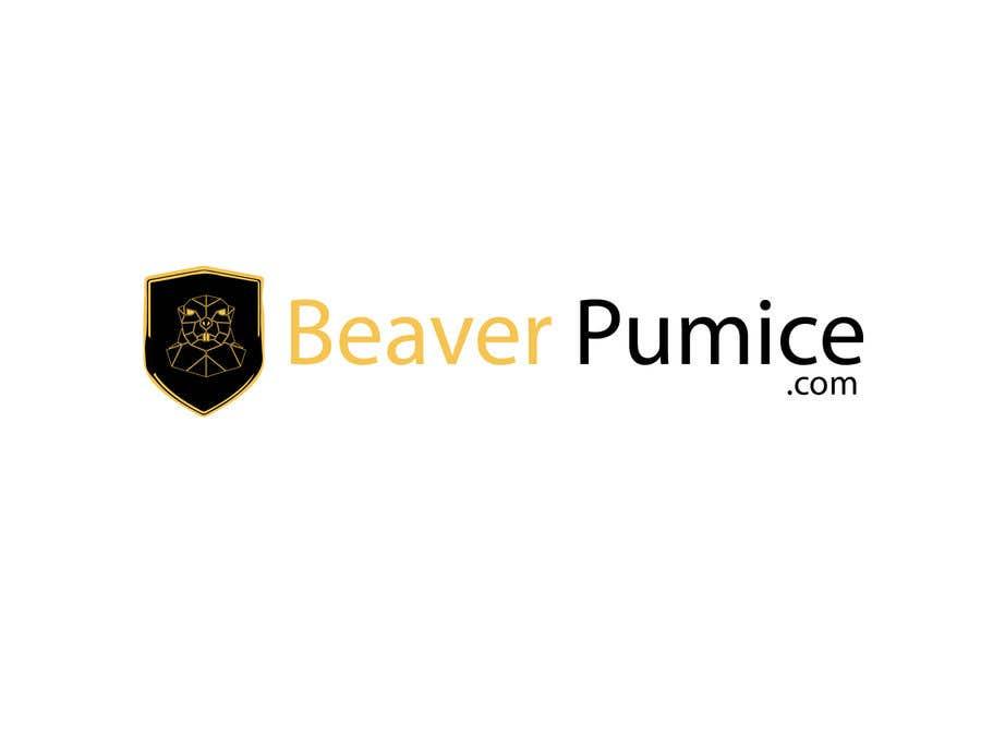 Participación en el concurso Nro.123 para Logo Beaver Pumice - Custom beaver logo