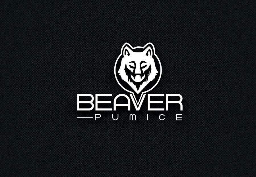 Participación en el concurso Nro.19 para Logo Beaver Pumice - Custom beaver logo