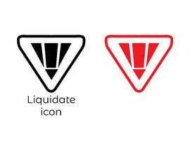 #60 for Design a Liquidate Icon by littlenaka