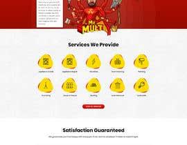 Nro 26 kilpailuun Mockup Redesign of existing Website käyttäjältä pixelwebplanet