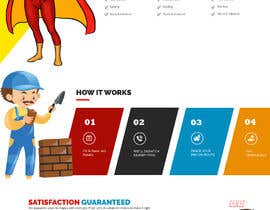 Nro 17 kilpailuun Mockup Redesign of existing Website käyttäjältä saidesigner87