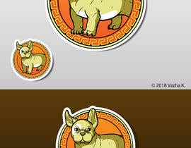 """#4 cho I need design to be used as stickers that are 3"""" x 3"""" and 4"""" x 4"""" bởi Legatus58"""
