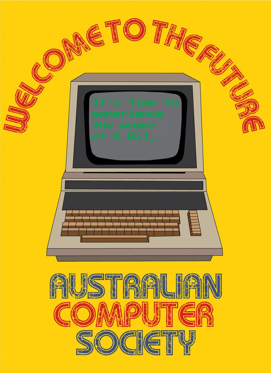 #215 for T-shirt Design for Australian Computer Society by roballen23