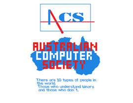 #372 for T-shirt Design for Australian Computer Society by phanidraju