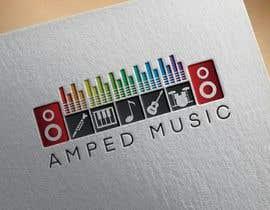 """shunain18 tarafından Create a logo for """"Amped Music"""" için no 79"""