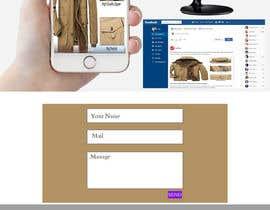 Nro 7 kilpailuun PSD - Mockup / Social Sharing käyttäjältä Designerkawsar