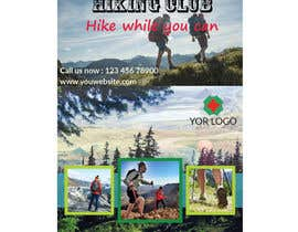 #32 for Flyer for Hiking Club by Ahmedrezasuman
