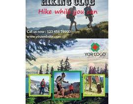#32 for Flyer for Hiking Club af Ahmedrezasuman