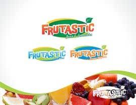 #76 para Design a Logo for New Juice n Smoothies Kiosk called Frutastic por TeknoView