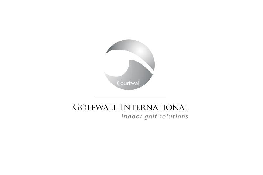 Inscrição nº 20 do Concurso para Logo Design for Courtwall-Golfwall International, Switzerland