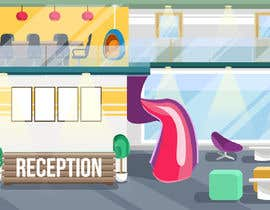#11 for Scene Creation - Flat Designing: Creating a Reception Scene by trishabose
