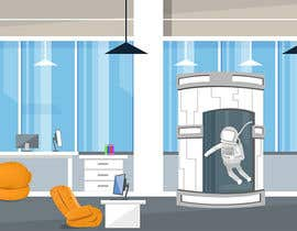 #8 for Scene Creation - Flat Designing: Creating a Reception Scene by PlutusEnt