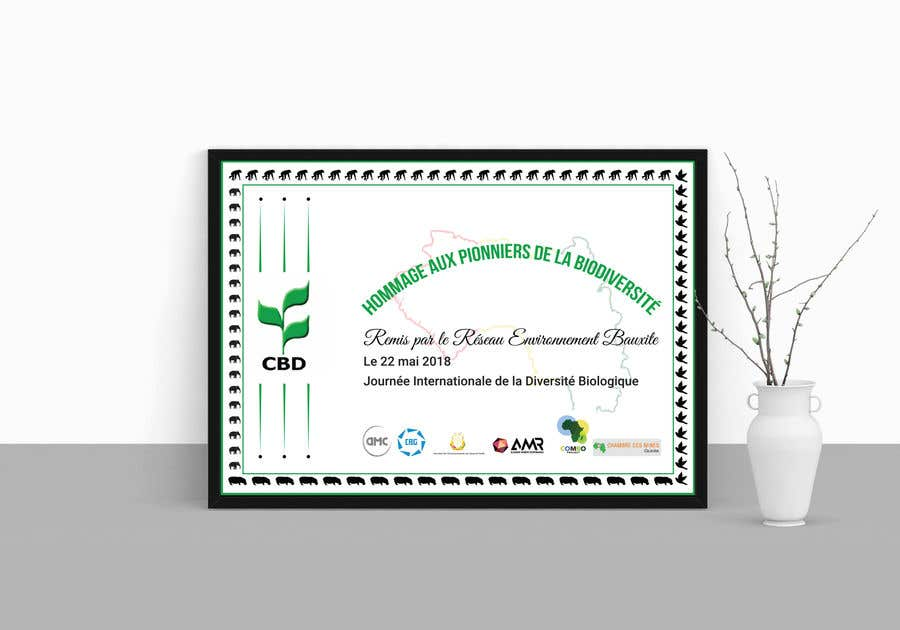 Proposition n°                                        9                                      du concours                                         certificate design