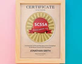 #43 cho Design a Certificate bởi creativefolders