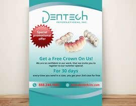 #40 for Design a Flyer for Dentech af AstroDude