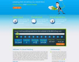 Nro 38 kilpailuun Website Design for cloud hosting and cloud storage mini site for major UK hosting company käyttäjältä nitinatom