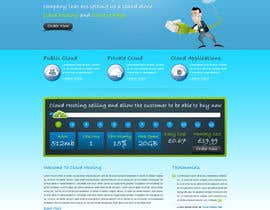 Nro 33 kilpailuun Website Design for cloud hosting and cloud storage mini site for major UK hosting company käyttäjältä nitinatom