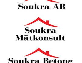 #3 for I have already the logo. I want in hd beause the quality is very bad.  I want tvo of same logo  Soukra Mätkonsult  Soukra betong & anläggning  I want the logo in different size. by arthur2341
