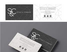#88 for Develop a Corporate Identity for a Costume Designer, 'Style + Conquer' by paurincon90
