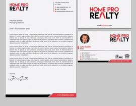 #212 for Design business cards and letterhead for real estate company by sabbir2018