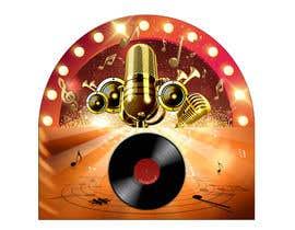 #40 untuk Design graphic insert for jukebox speaker oleh Lilytan7