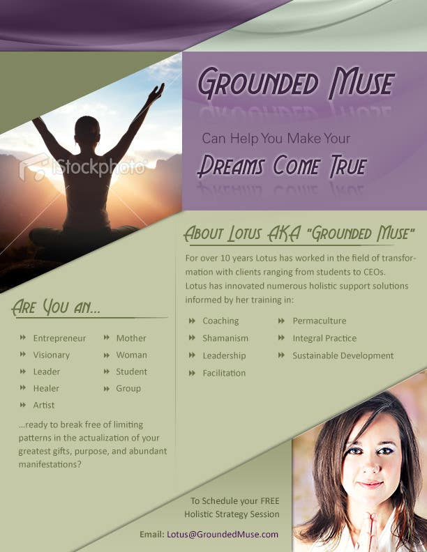 Proposition n°                                        3                                      du concours                                         Graphic Design for Grounded Muse