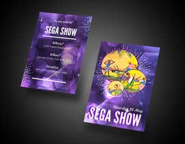 #3 cho A5 Flyer design for Sega Show bởi girmax