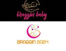 #40 untuk Braggin' Baby Logo oleh afrintani525