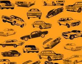 #39 สำหรับ Background  Skin / Collage needed of Muscle Car Pattern / Arrangement โดย farazali3