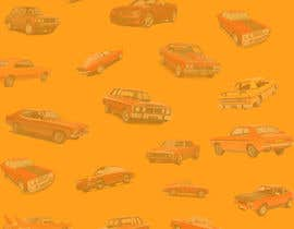 #24 สำหรับ Background  Skin / Collage needed of Muscle Car Pattern / Arrangement โดย Adnanhabib02