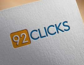 #61 untuk 92 Clicks logo oleh Desinermohammod