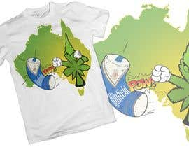 #56 for Design a T-Shirt relating to Australia and Cannabis by haidershawn
