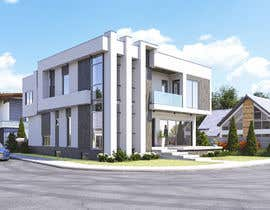 #80 for Realistic exterior rendering of a modern house by diegoalonso4
