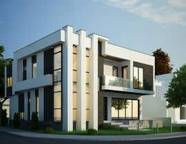 #54 for Realistic exterior rendering of a modern house by foruarchitcets