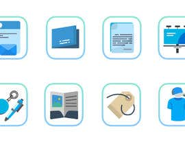 #10 for Design icons for print material categories by rivasfjl