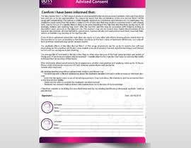 #37 para design a patient form according to brand style de jaswinder527