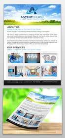 Billede af                             Design a one page brouchure