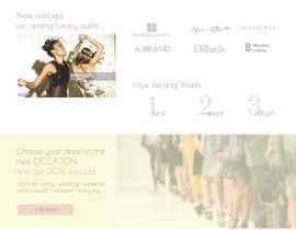 tatyanashevtsova tarafından Website Design için no 14